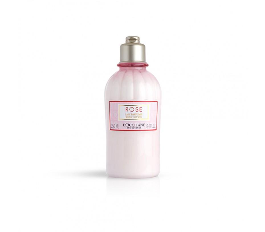 L'occitane Rose Lait Parfume Body Lotion 8.4fl.oz/250ml