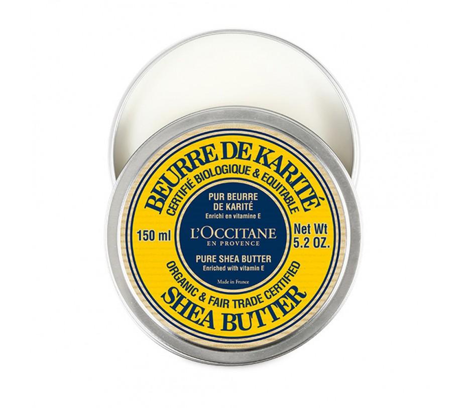L'occitane Shea Butter Certified Organic Pure Shea Butter 5.2oz/147g