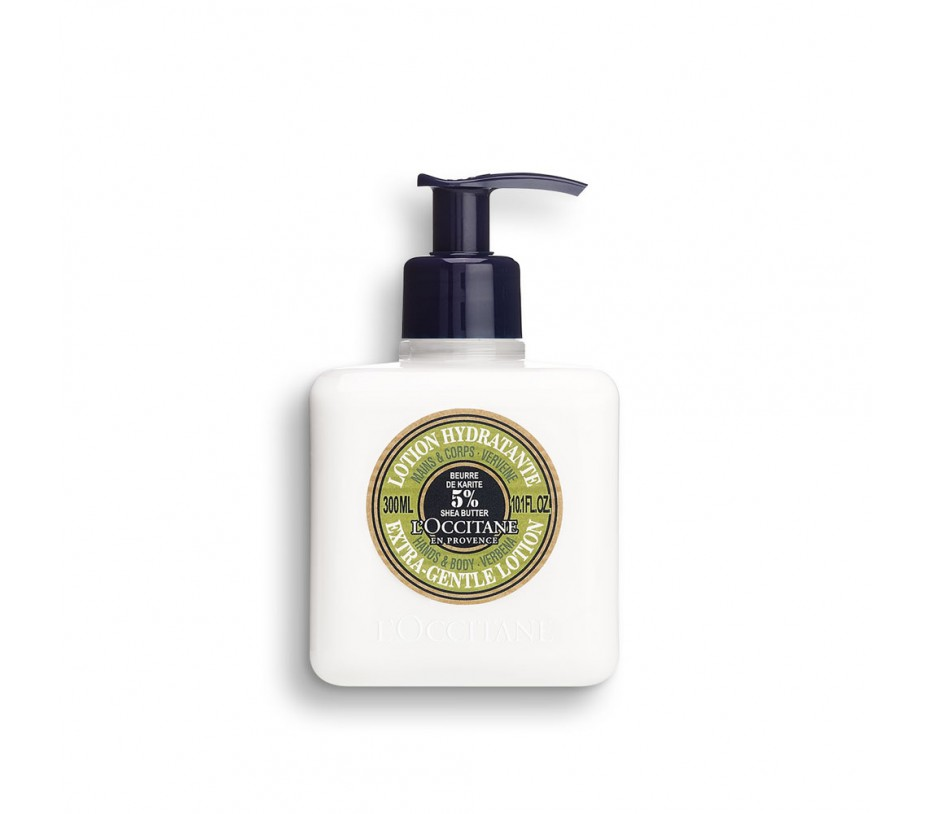L'occitane Shea Butter Extra Gentle Lotion For Hands and Body - Verbena 10.1fl.oz/300ml