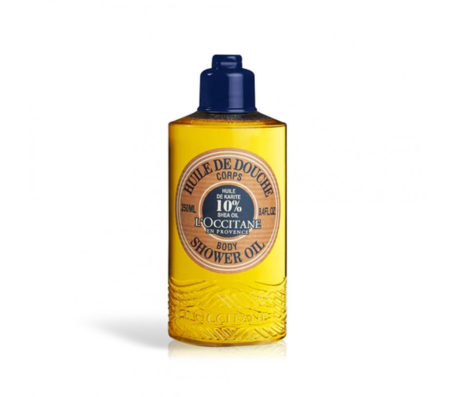 L'occitane Shea Butter Shea Body Shower Oil 8.4