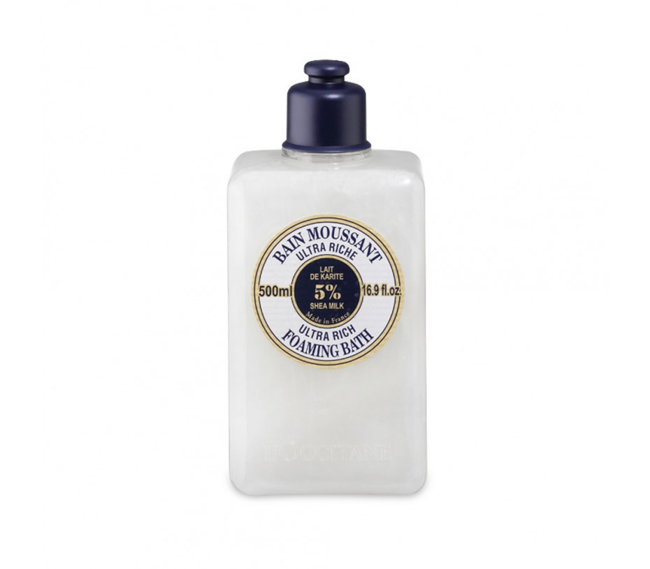 L'occitane Shea Butter Ultra Rich Foaming Bath 16.9fl.oz/500ml