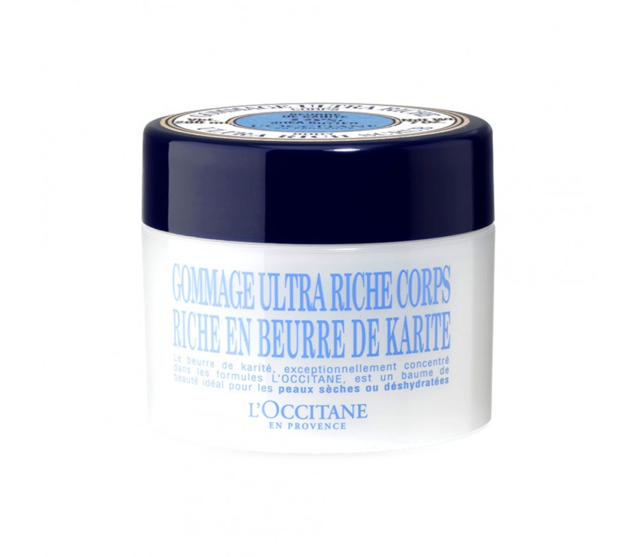 L'occitane Shea Butter Ultra Rich Scrub 7oz/198g