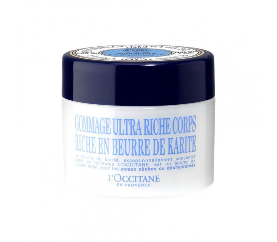 L'occitane Shea Butter Ultra Rich Scrub 7oz/198g