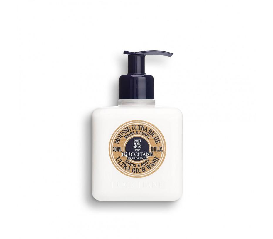 L'occitane Shea Butter Ultra Rich Wash for Hands & Body 10.1fl.oz/300ml