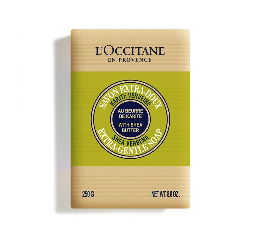 L'occitane Verbena Shea Butter Verbena Extra Gentle Soap 8.8oz/249g