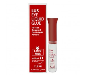 Lus Eye Liquid Glue (Clear) 0.17fl.oz/5ml