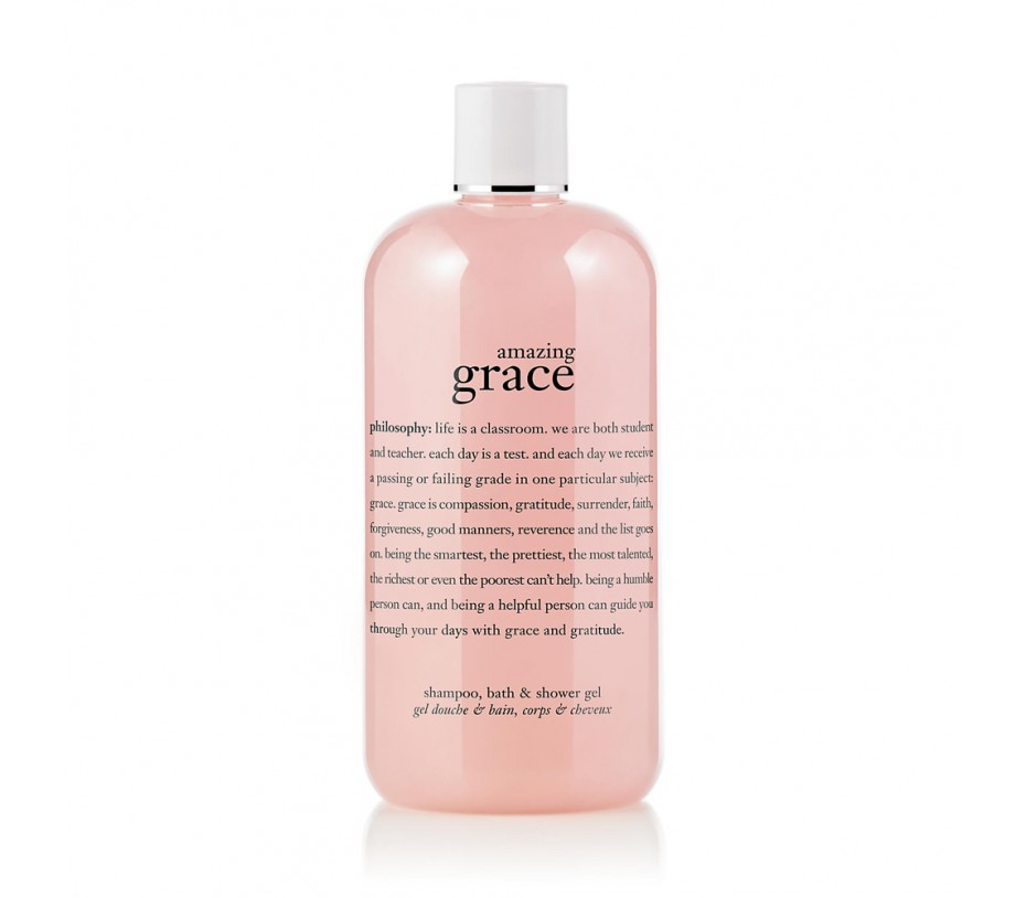 Philosophy Amazing Grace Perfumed Shampoo, Bath & Shower Gel 16fl.oz/473ml
