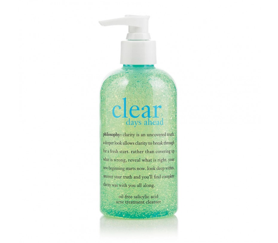 Philosophy Clear Days Ahead Oil-Free Salicylic Acid Acne Treatment Cleanser 8fl.oz/237ml