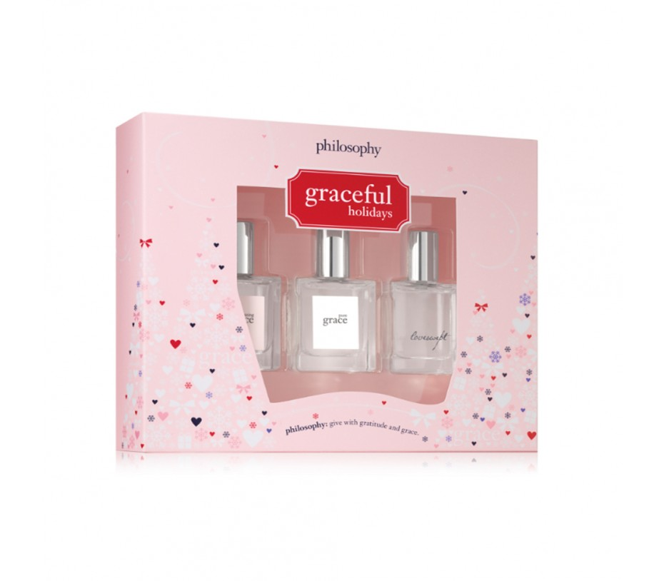 Philosophy Holiday fragrance coffret