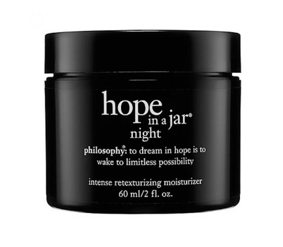 Philosophy Hope in a Jar Night Intense Retexturizing Moisturizer 2oz/57g