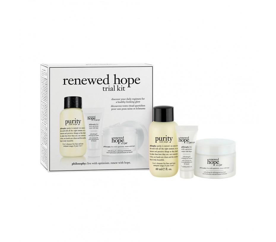 Philosophy Hope in a Jar Renewed Hope Trial Kit