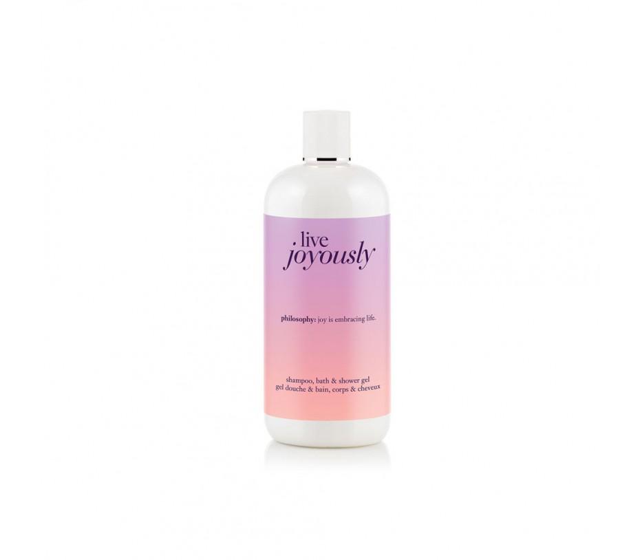 Philosophy Live Joyously Shampoo, Bath & Shower Gel 16fl.oz/473ml
