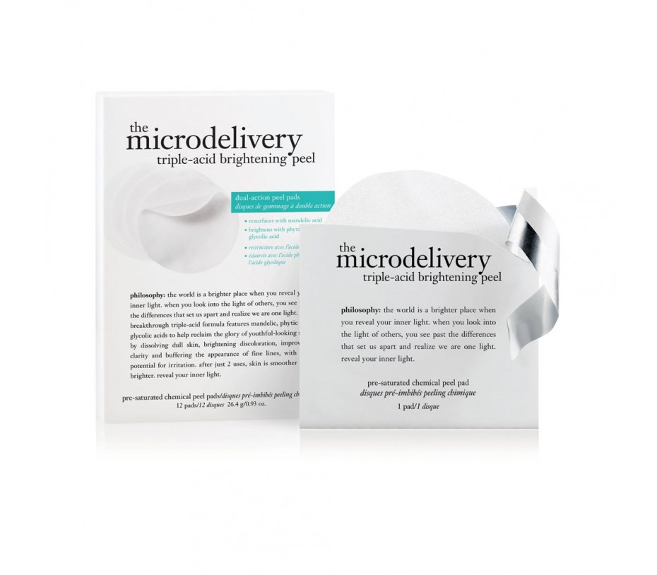Philosophy The Microdelivery Triple-Acid Peel Pads (12 count)