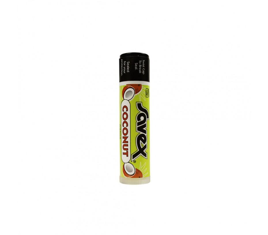 Savex Lip Balm Coconut Stick 0.15oz/4.3g
