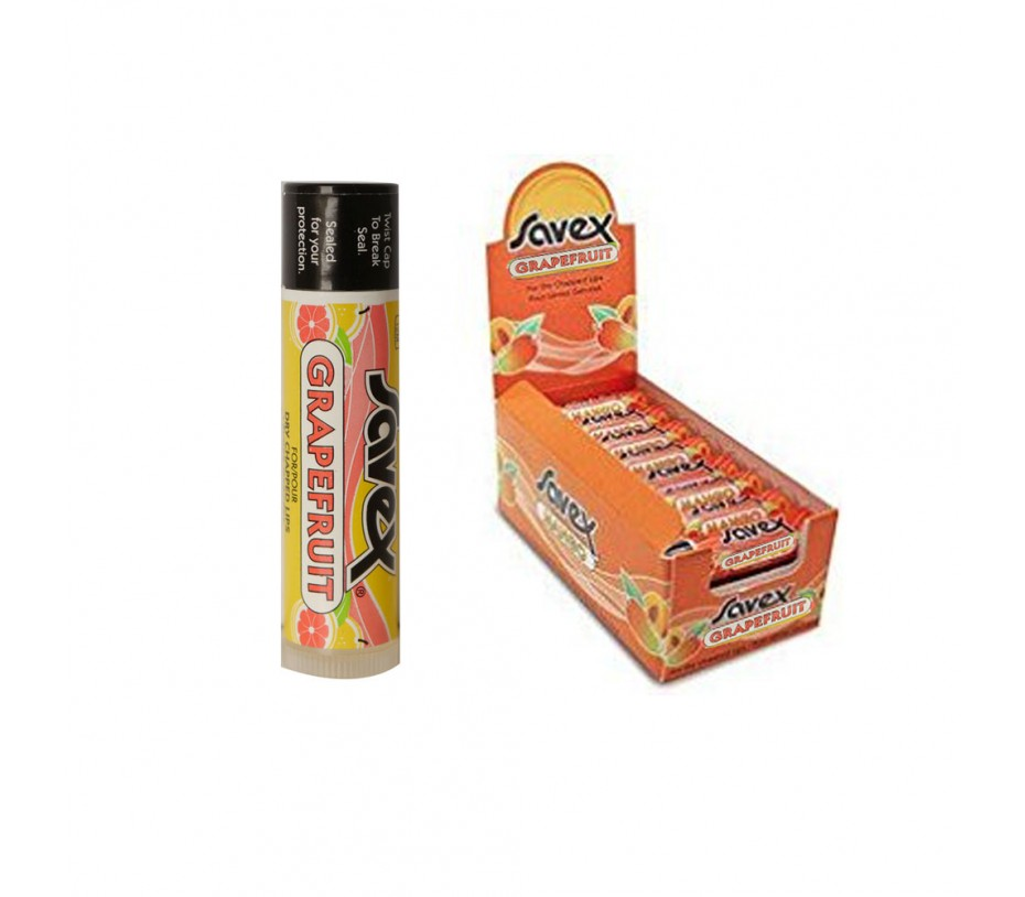 Savex Lip Balm Grapefruit Stick 0.15oz/4.3g SpaScriptions Anti-Aging Under-Eye Pads, 5 count