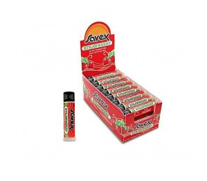 Savex Lip Balm Strawberry Stick (24 Pack)