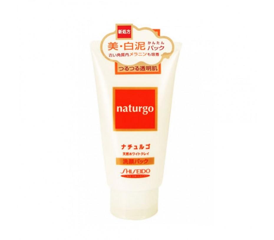 Shiseido Fitit Naturgo White Clay Facial Pack 4.2oz/119g