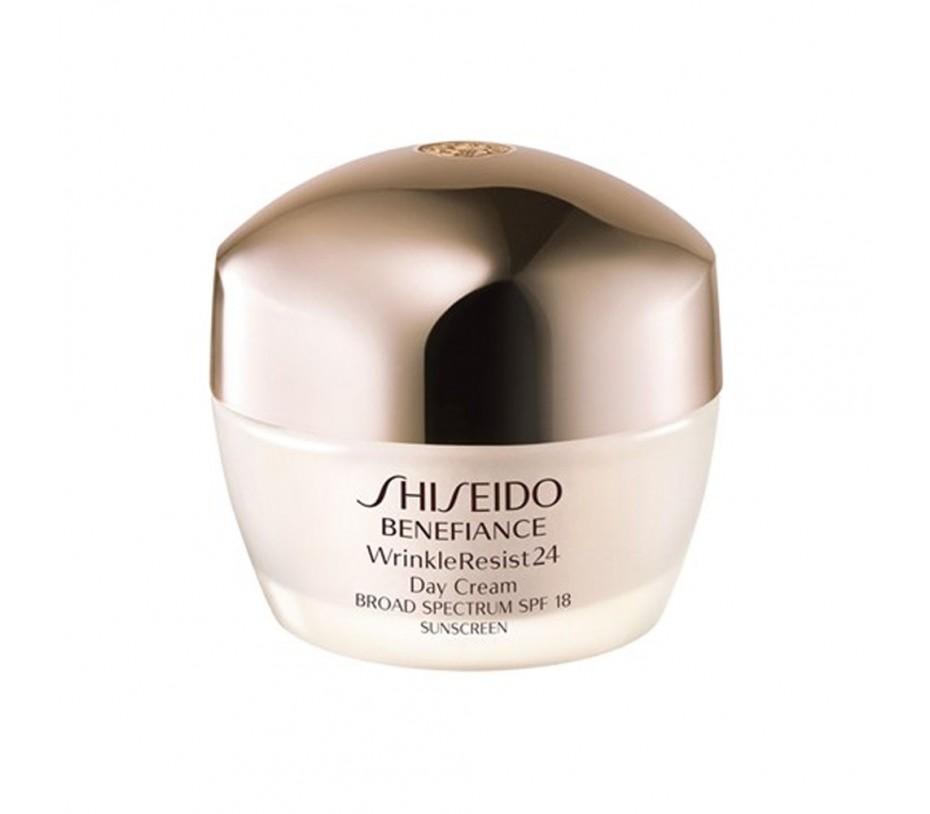 Shiseido Benefiance WrinkleResist24 Day Cream SPF 18 1.7oz/48g