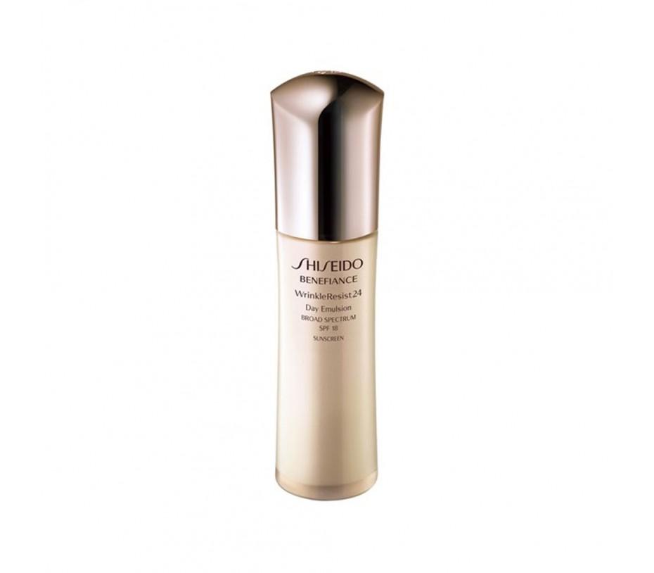 Shiseido Benefiance WrinkleResist24 Day Emulsion SPF 18 2.5fl.oz/74ml