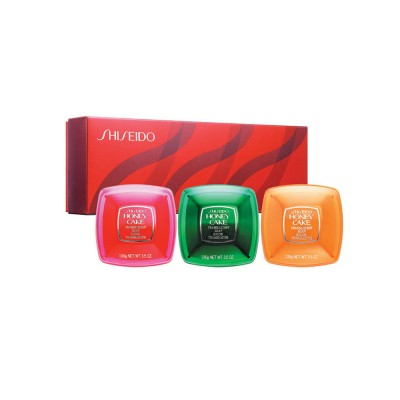 Shiseido Honey Cakes Translucent Soap Set 3