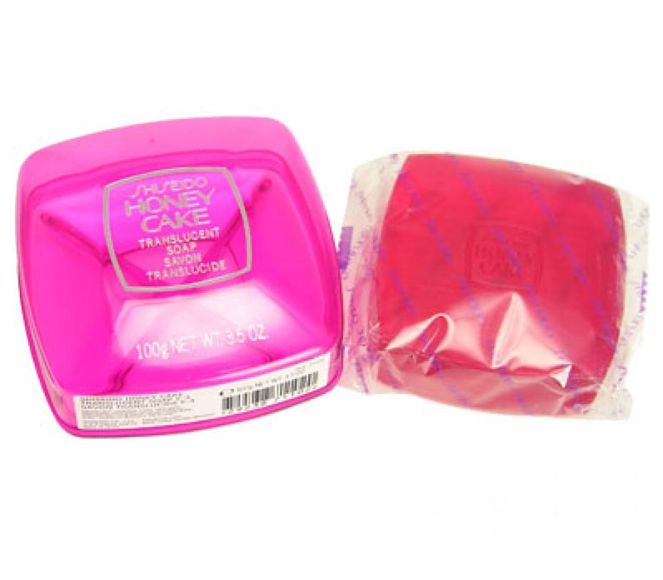 Shiseido Shiseido Special Honey Cake Translucent Soap E-3 (Red) 3.5oz/100g