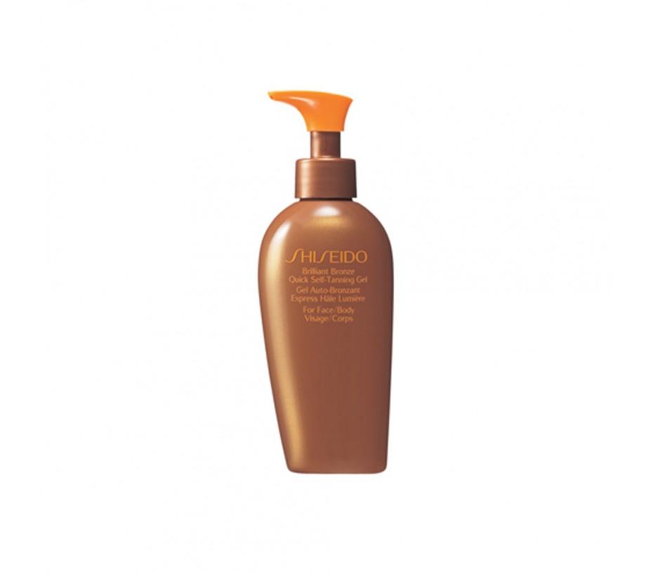 Shiseido Sun Brilliant Bronze Quick Self-Tanning Gel 5.2fl.oz/154ml