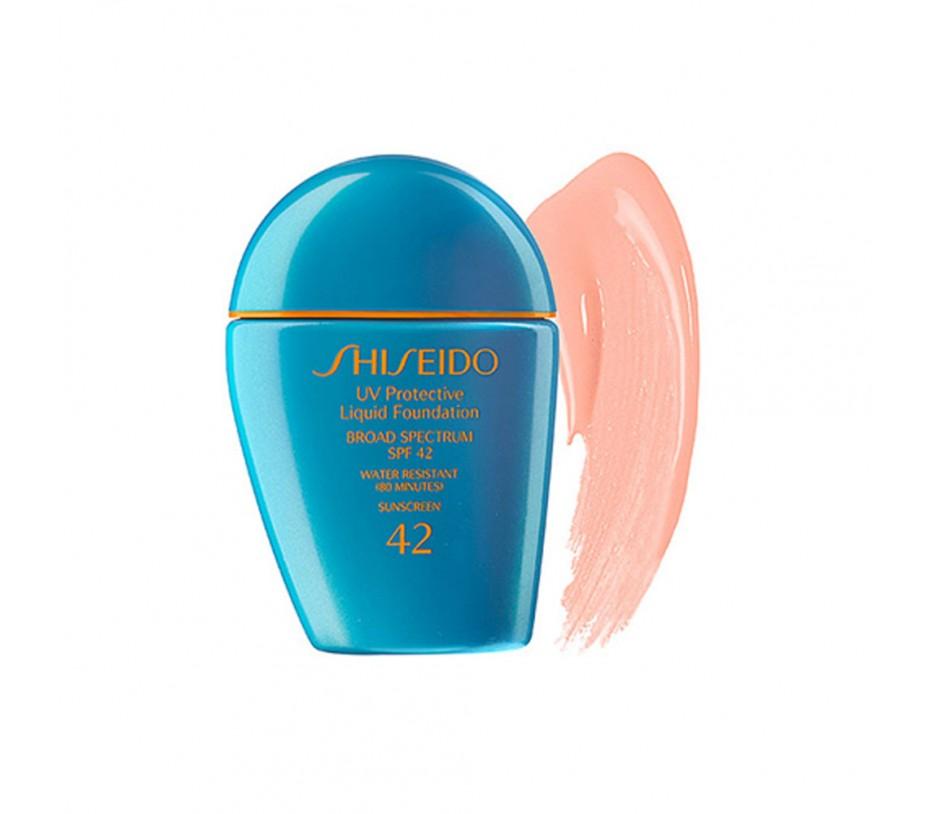 Shiseido Sun UV Protective Liquid Foundation Broad Spectrum SPF 42 (Light Ivory) 1oz/28g