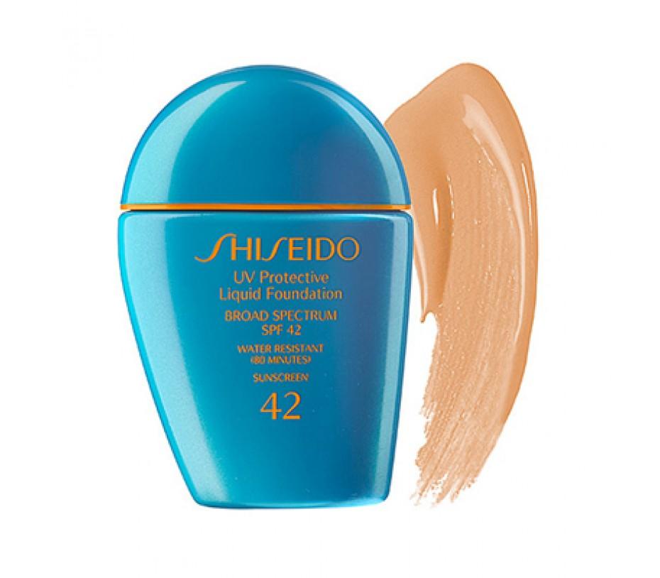 Shiseido Sun UV Protective Liquid Foundation Broad Spectrum SPF 42 (SP20 Light Beige) 1oz/28g
