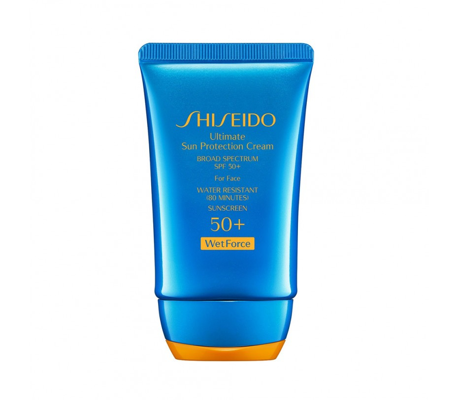 Shiseido Sun Ultimate Sun Protection Cream SPF 50+ WetForce 2oz/50ml