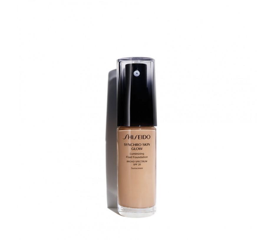 Shiseido Synchro Skin Glow Luminizing Fluid Foundation SPF 20 Rose 4 1fl.oz/30ml
