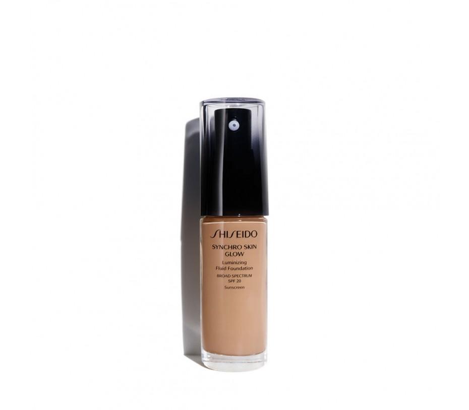 Shiseido Synchro Skin Glow Luminizing Fluid Foundation SPF 20 Rose 5 1fl.oz/30ml