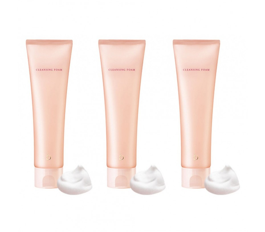 Shiseido [Travel] Benefique Cleansing Foam  (Pack of 3) 1.56oz/45g