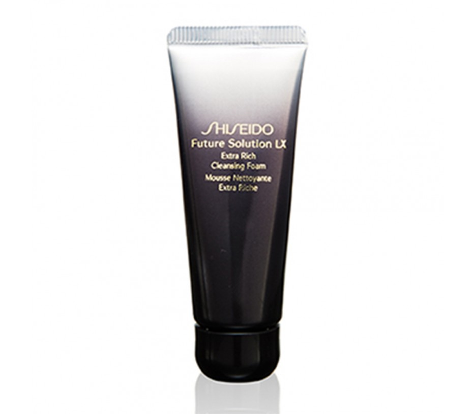 Shiseido [Travel] Future Solution LX Extra Rich Cleansing Foam 0.57fl.oz/15ml
