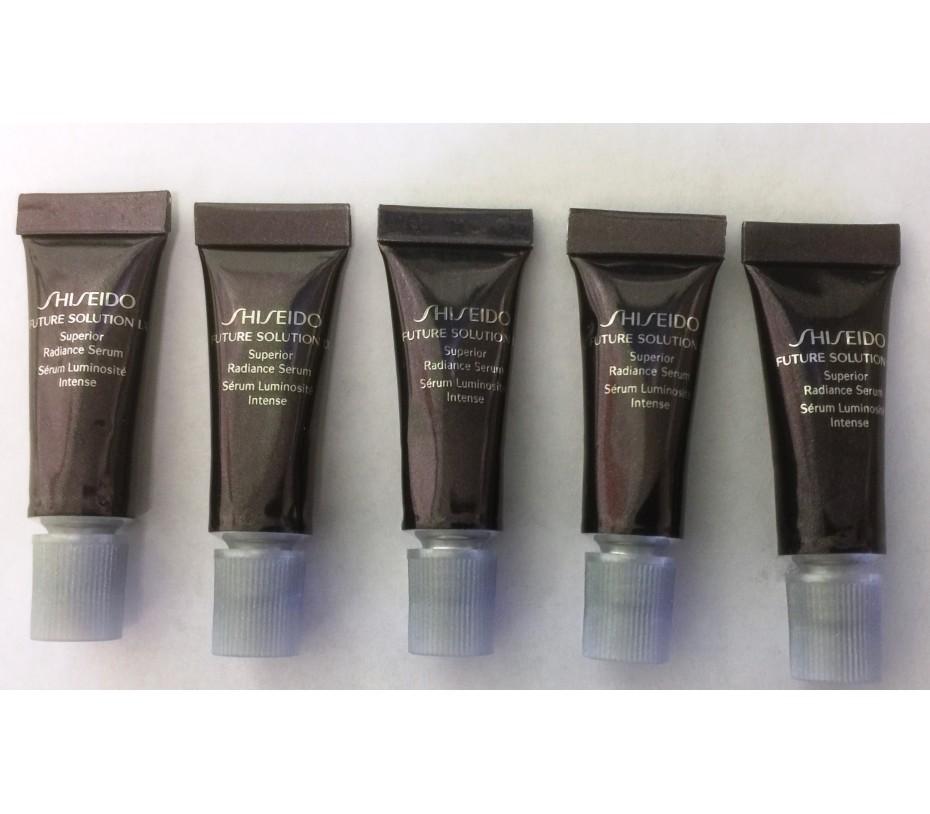 Shiseido [Travel] Future Solution LX Superior Radiance Serum 10ml =2ml X 5 Sample Sizes 0.33fl.oz/9.8ml