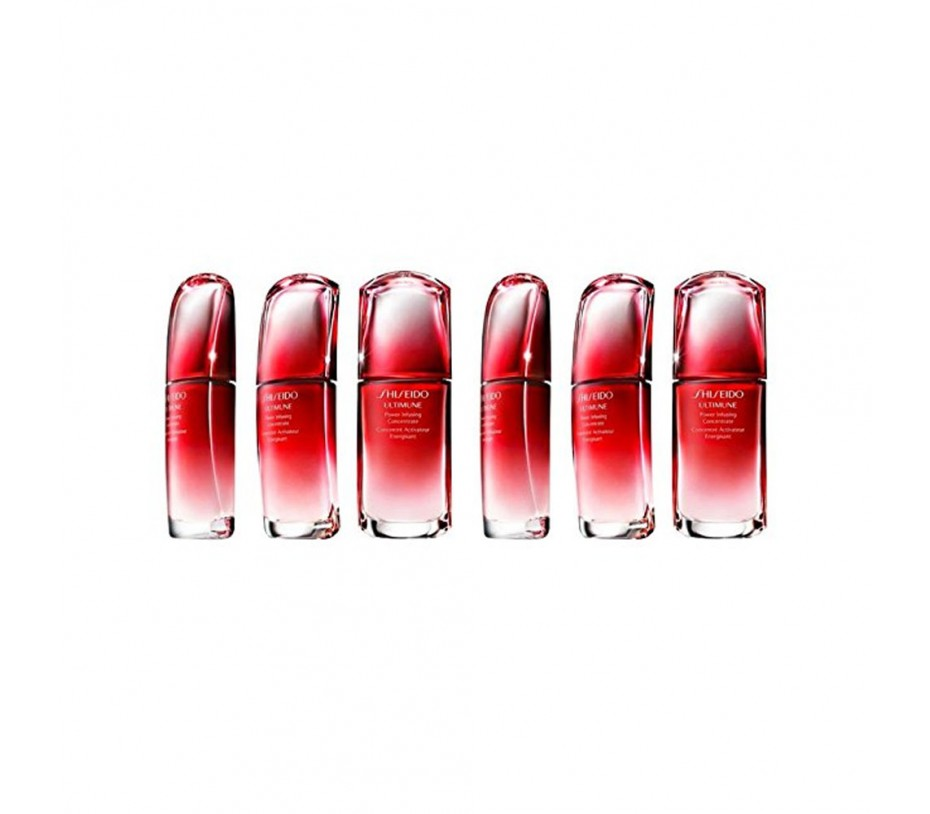 Shiseido Ultimune Power Infusing Concentrate  0.33fl.oz/9.8ml (Pack of 6) [Travel]