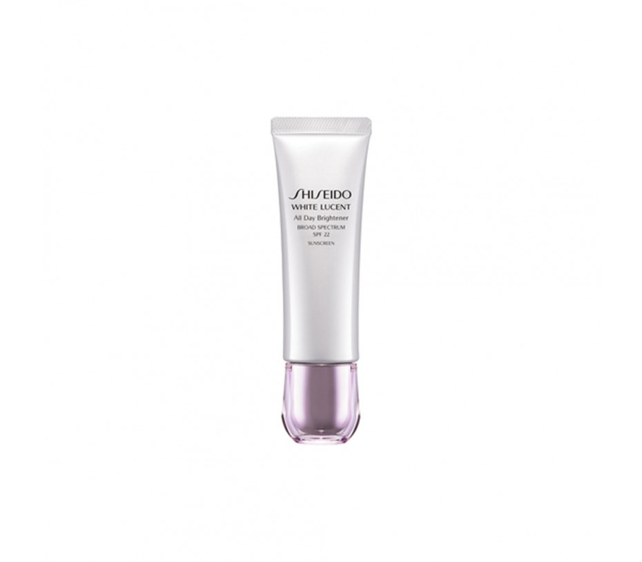 Shiseido White Lucent All Day Brightener Broad Spectrum SPF 22  1.7oz/48g