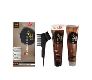 Su Wall Luxury Hair Color Cream (6S Dark Brown) 120g + 120g
