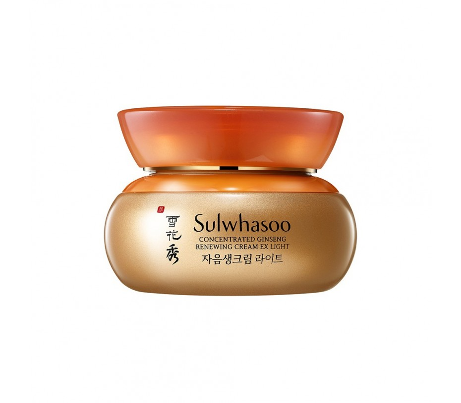 Sulwhasoo Concentrated Ginseng Renewing Cream EX Light 2.02oz/57g