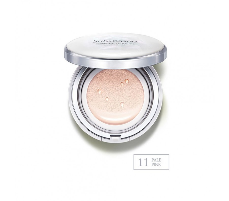 Sulwhasoo Perfecting Cushion Brightening SPF 50+ (No. 11 Pale Pink) 1.05oz/30g