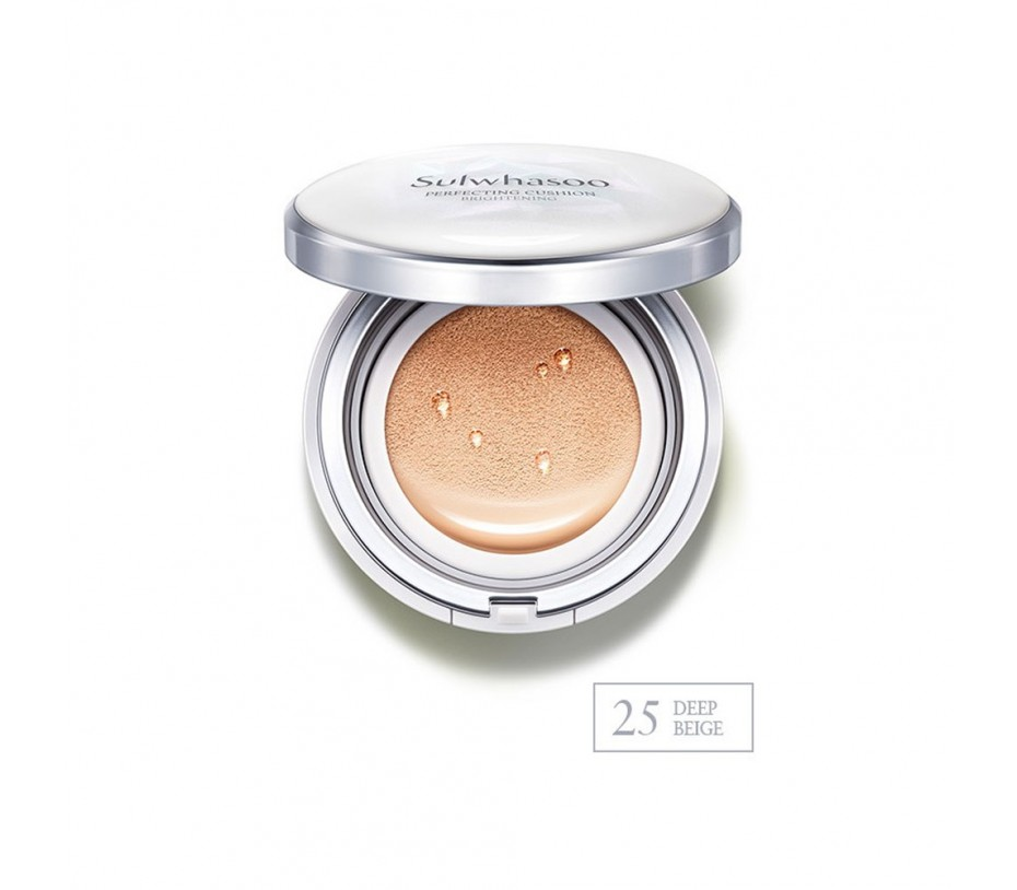 Sulwhasoo Perfecting Cushion Brightening SPF 50+ (No. 25 Deep Beige) 1.05oz/30g