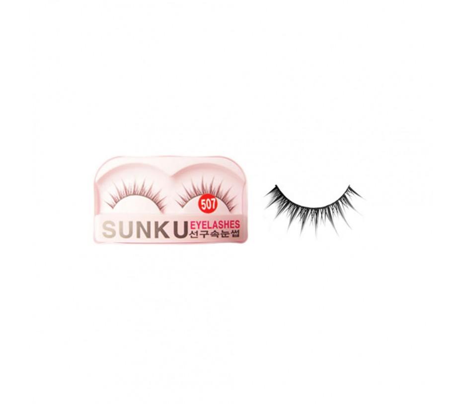 Sunku Eyelash with adhesive (507)