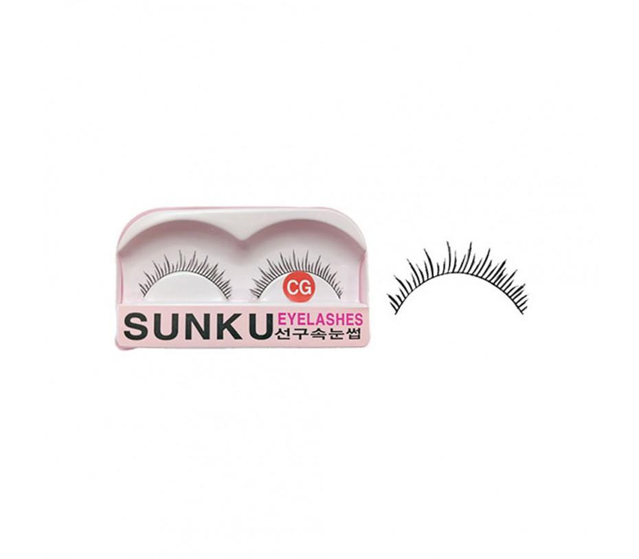 Sunku Eyelash with adhesive (CG)