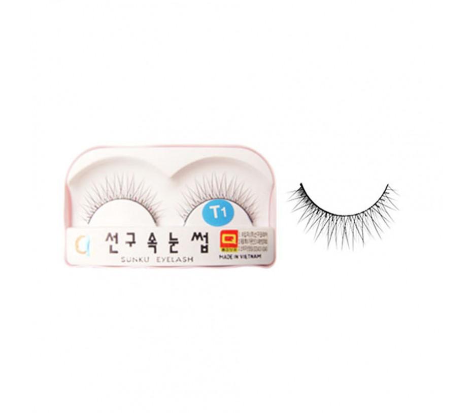 Sunku Eyelash with adhesive (T1)