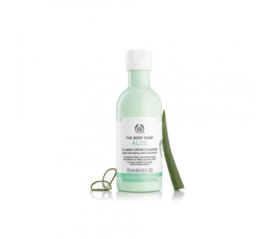 The Body Shop Aloe Calming Cream Cleanser 8.4fl.oz/248ml