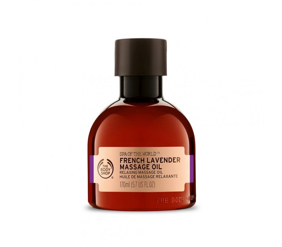 The Body Shop Nutriganics French Lavender Massage Oil 5.7fl.oz/169ml