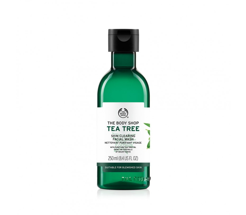 The Body Shop Tea Tree Skin Clearing Facial Wash 8.4fl.oz/250ml