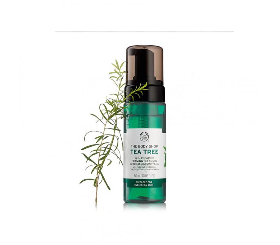 The Body Shop TEA TREE SKIN CLEARING FOAMING CLEANSER 5.0 fl.oz