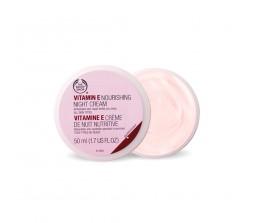 The Body Shop Vitamin E Nourishing Night Cream  1.67fl.oz/50ml