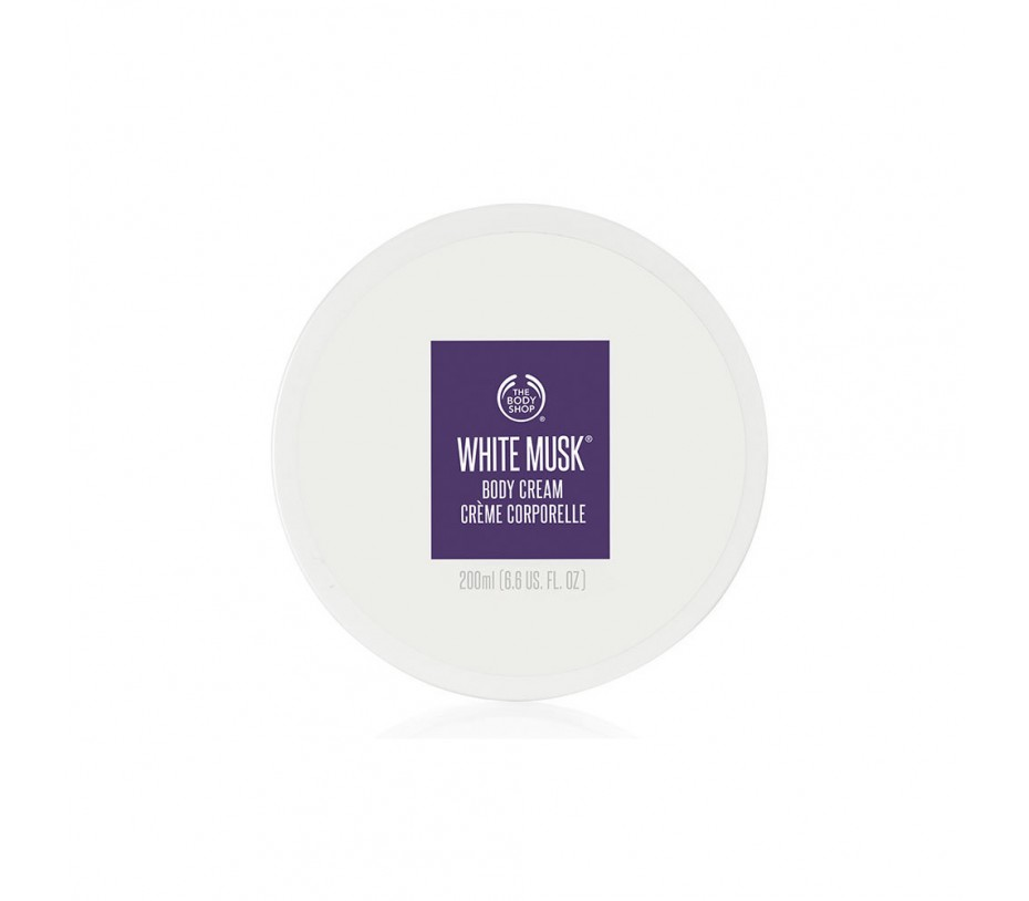The Body Shop White Musk Body Cream 6.7oz/190g